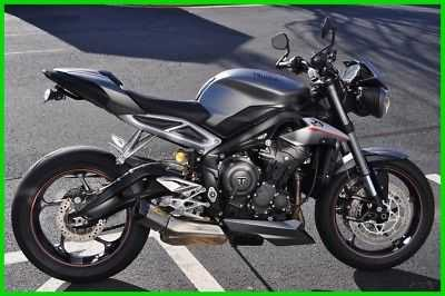 2018 Triumph Street Triple Rs New