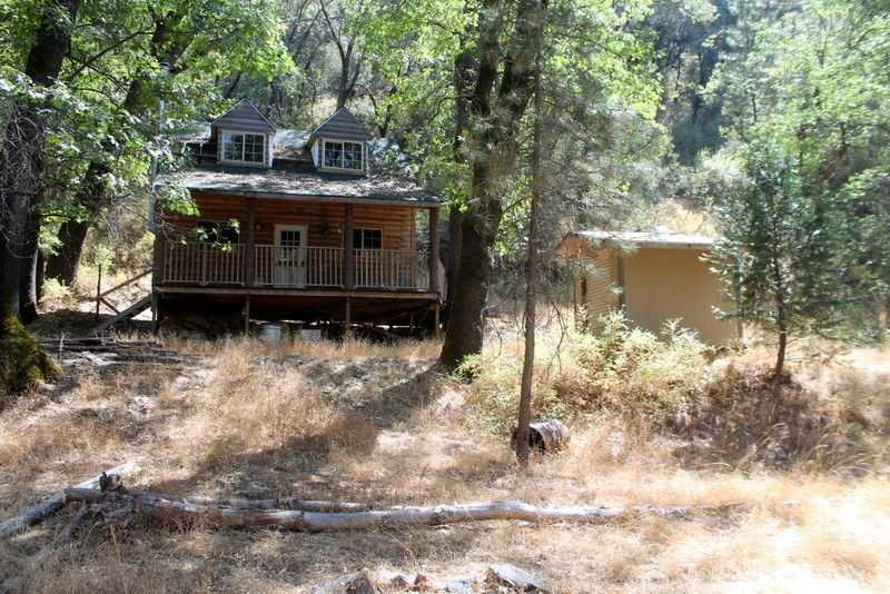 Super Rare Placer Gold Mining Claims, Land Rich Creek Awesome Cabin, Ca