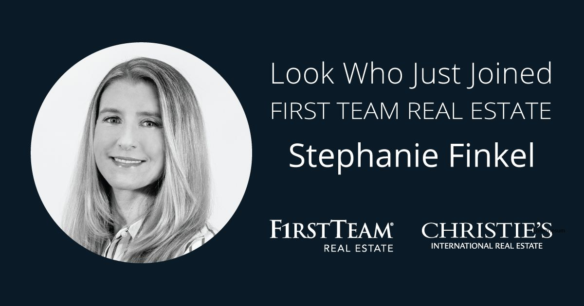 First Team Welcomes Stephanie Finkel to San Clemente Office