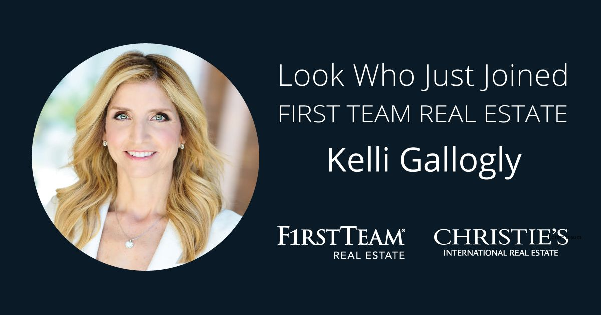 First Team Welcomes Kelli Gallogly to Yorba Linda Office