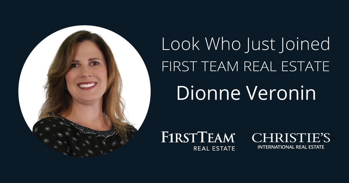 First Team Welcomes Dionne Veronin to Huntington Beach Seacliff Office