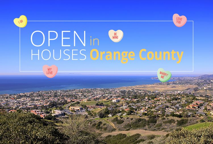 Open Houses This Weekend In Orange County