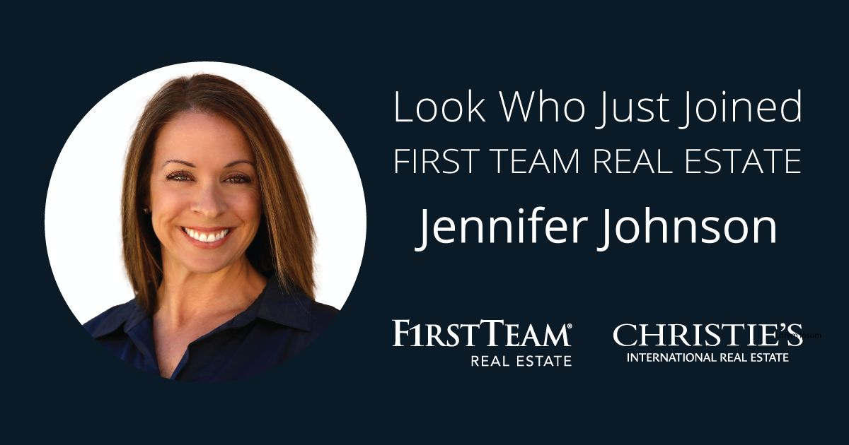 First Team Welcomes Jennifer Johnson to San Clemente Office