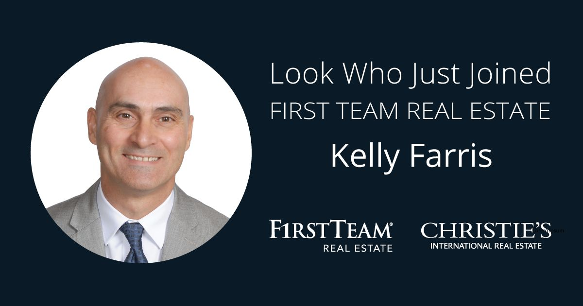 First Team Welcomes Kelly Farris to Tustin Office