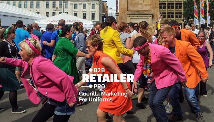 Aggressive Marketing: 5 Ideas for Some Guerrilla Uniform Marketing