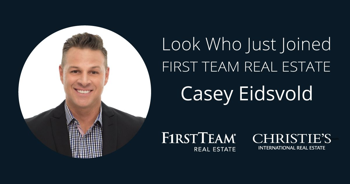 First Team Welcomes Eidsvold to Tustin Office