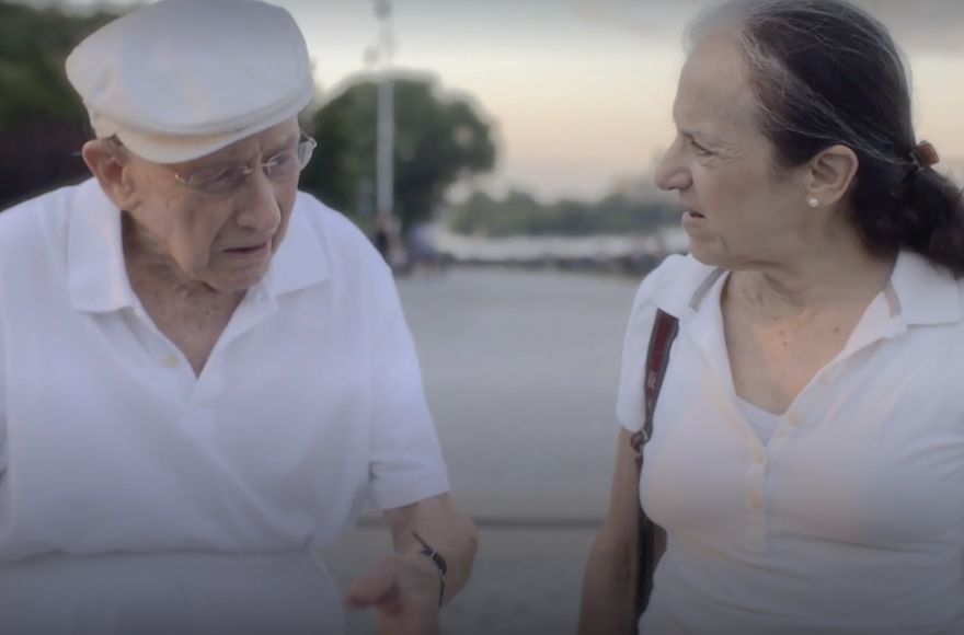 An 'Annie Hall' remake, starring two senior citizens