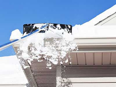 Roof Snow Removal Tips