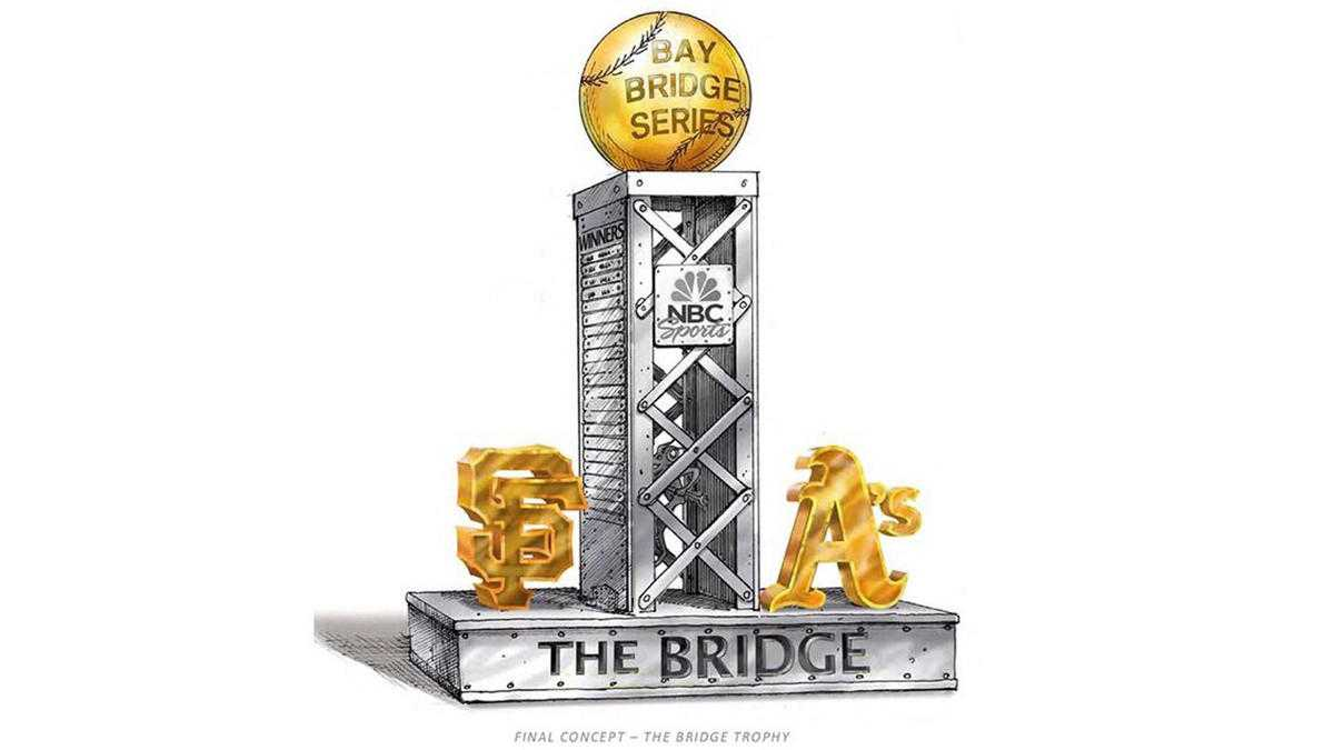 Bay Bridge Series: Giants, A's Play For 'The Bridge' Trophy