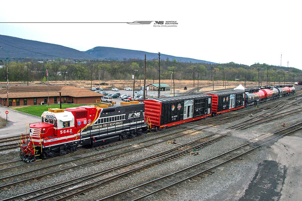 Norfolk Southern announces safety train schedule