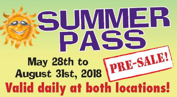 95 days of Summer FUN for just $92!