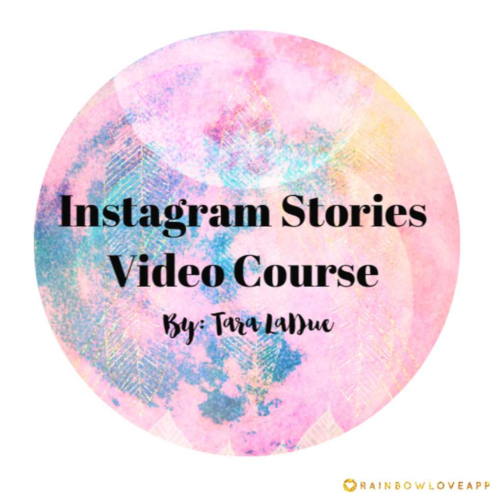Instagram Stories Video Course