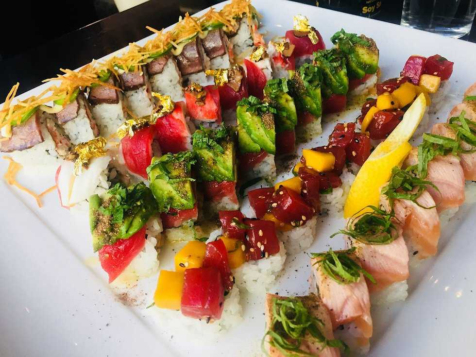 First Bite: Sameh Wadi's Palestinian Sushi at Seven
