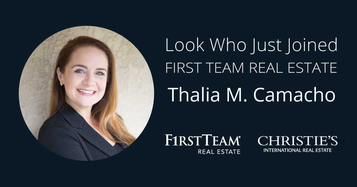 First Team Welcomes Thalia M. Camacho to Irvine Office