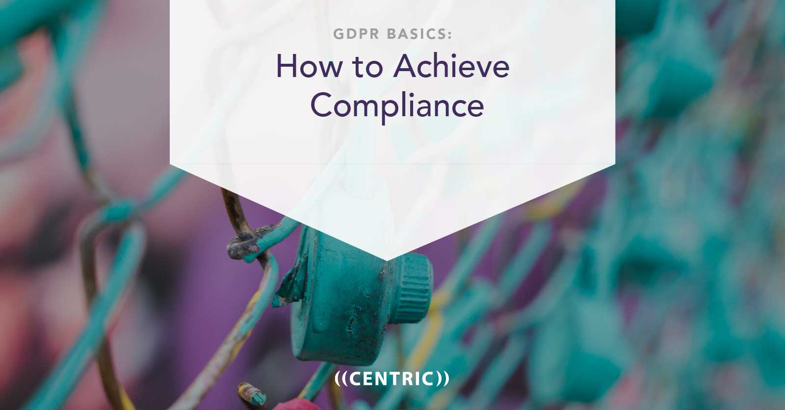 GDPR Basics: How to Achieve Compliance