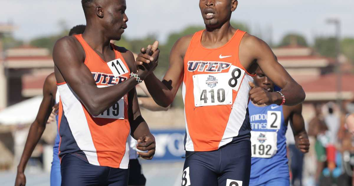 UTEP's Michael Saruni falters late, finishes third at NCAAs