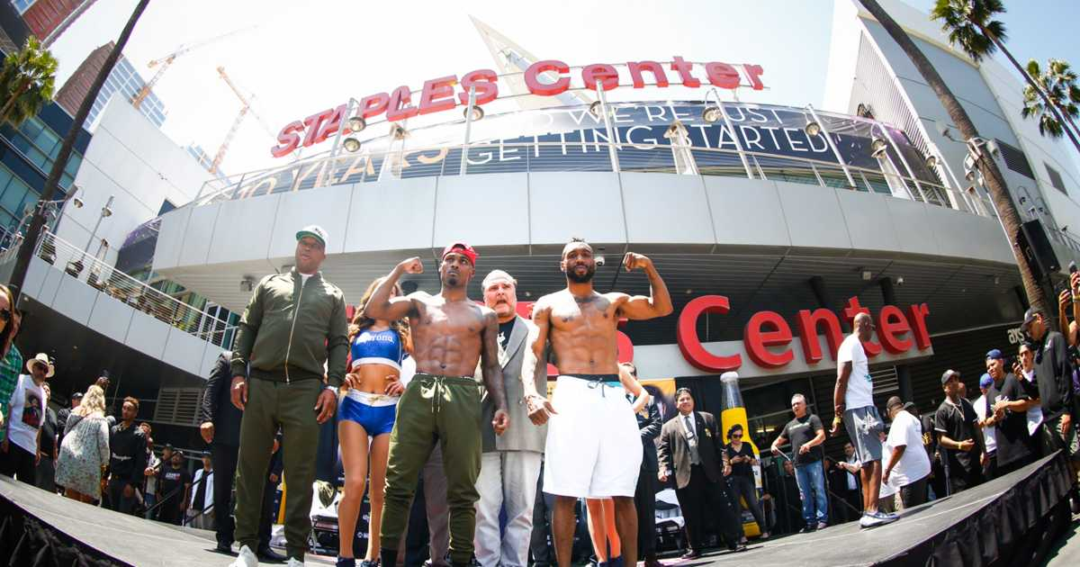 Boxer Austin Trout loses majority decision to Jermell Charlo at Staples Center