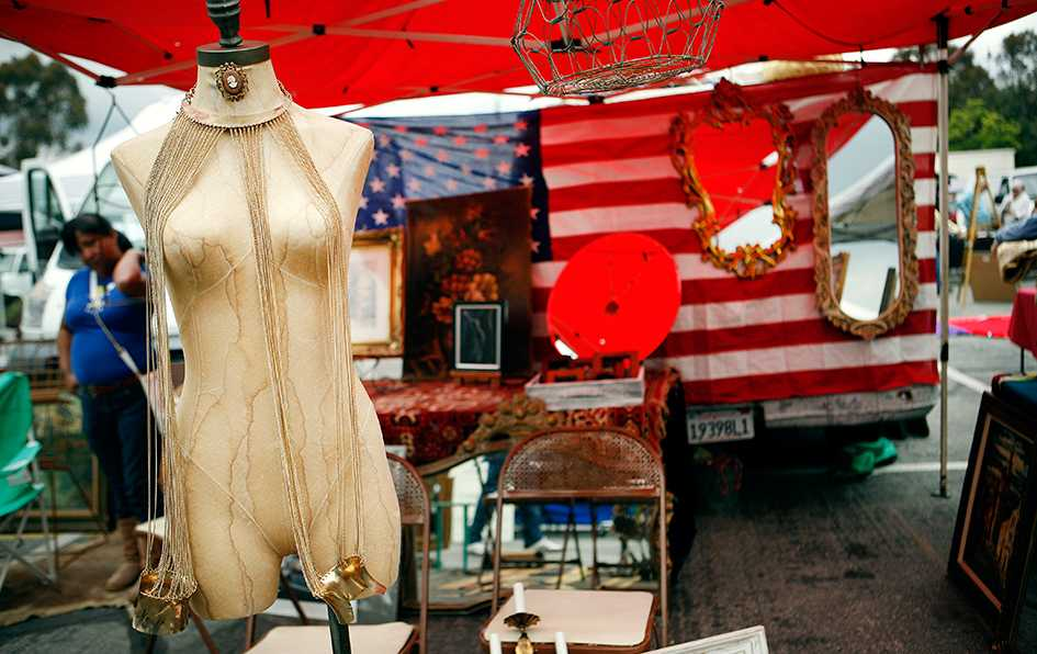 Vintage Treasures at The Rose Bowl Flea Market