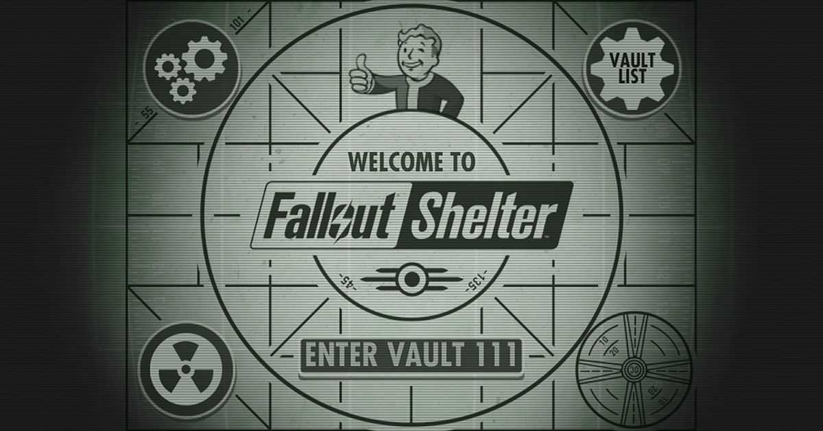 Fallout Shelter is coming to PS4 and Nintendo Switch