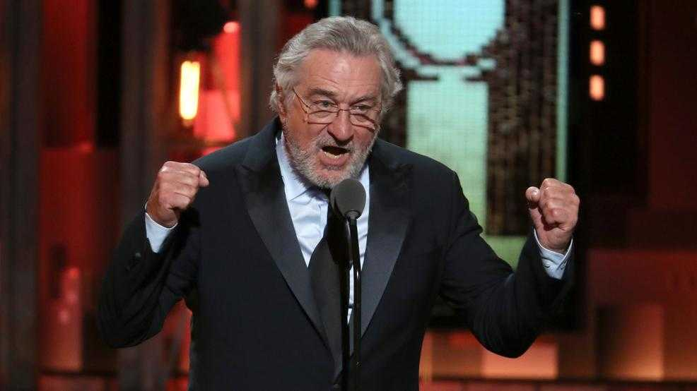Robert De Niro bleeped for language at Tony Awards