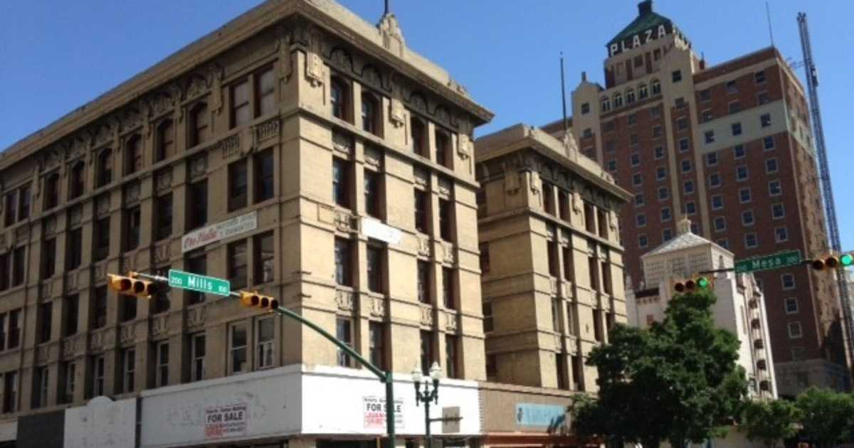 With renovation plans now dead, the Banner Building of downtown El Paso is now for sale