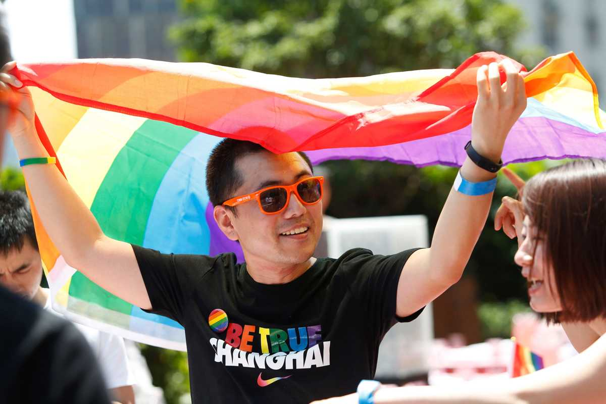 10th Shanghai Pride Spotlights China's Changing Attitudes
