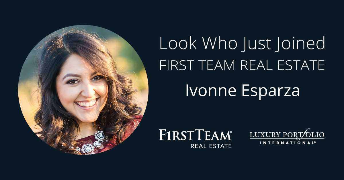 First Team Welcomes Ivonne Esparza to Rancho Cucamonga Office