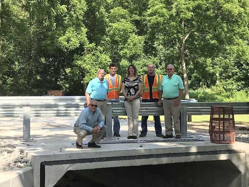 Bethel Ridge Road box culvert project completed