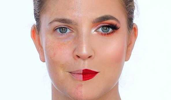 Blogger NikkiTutorials Gives Drew Barrymore a Complete Makeover