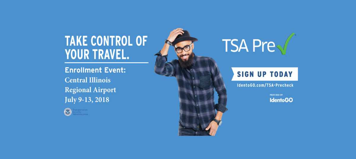 July 2018 TSA Pre✓® Temporary Enrollment Center Event