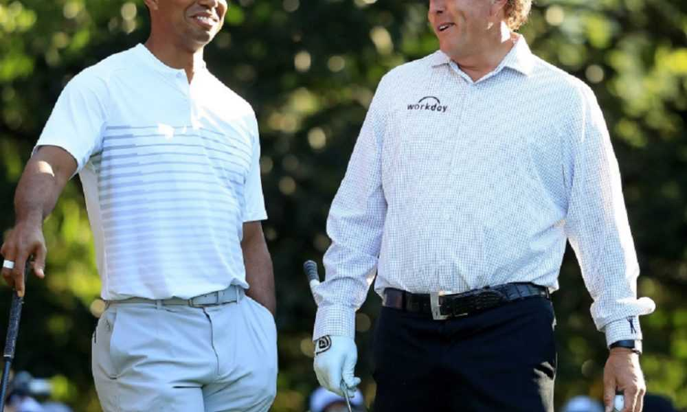 Tiger Woods vs. Phil Mickelson for $10 million? Apparently, it's happening