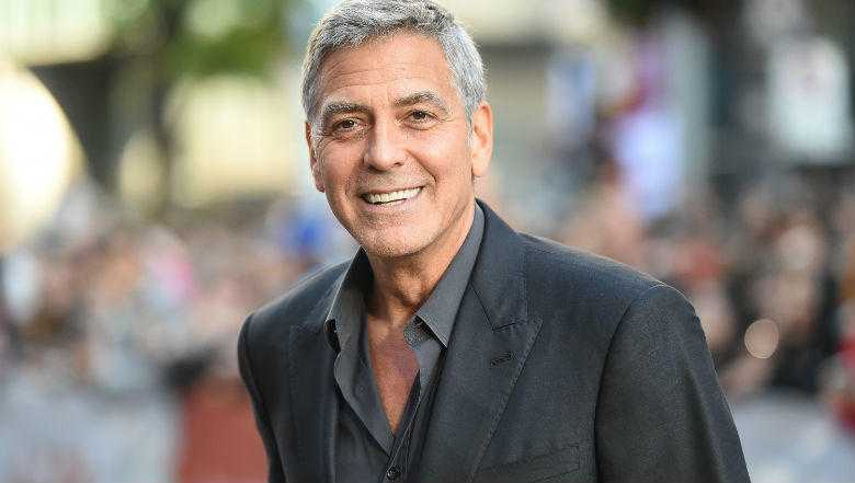 George Clooney's Scooter Crash In Italy Caught On Shocking Video