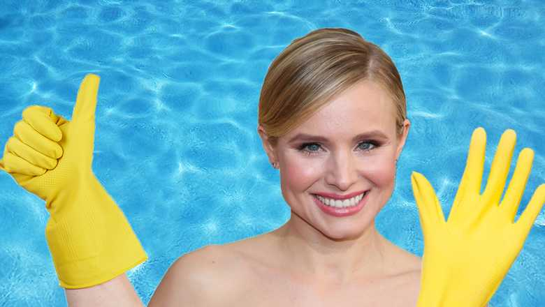 Kristen Bell Refuses To Get In Pools Without Gloves On