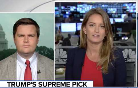 MSNBC's Katy Tur: Is It 'Appropriate' to Take Originalist View of Constitution Since Americans Are More Progressive Now?