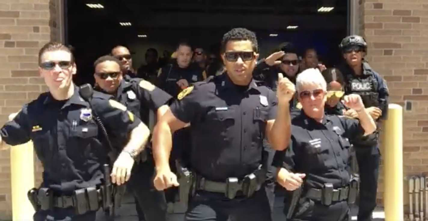 Norfolk Police Epically Lip Sync 'Uptown Funk' on Their Lunch Break