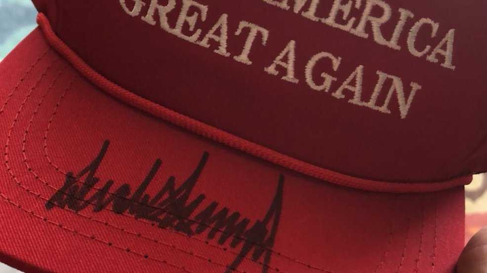 Teen attacked for wearing 'Make America Great Again' hat gets signed cap from President