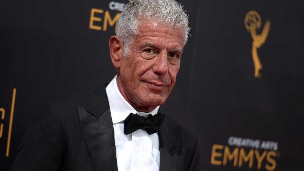Anthony Bourdain gets posthumous Emmy noms for 'Parts Unknown'