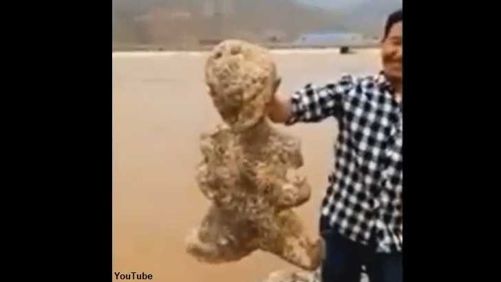 Creepy 'Humanoid' Creature Washes Ashore in China