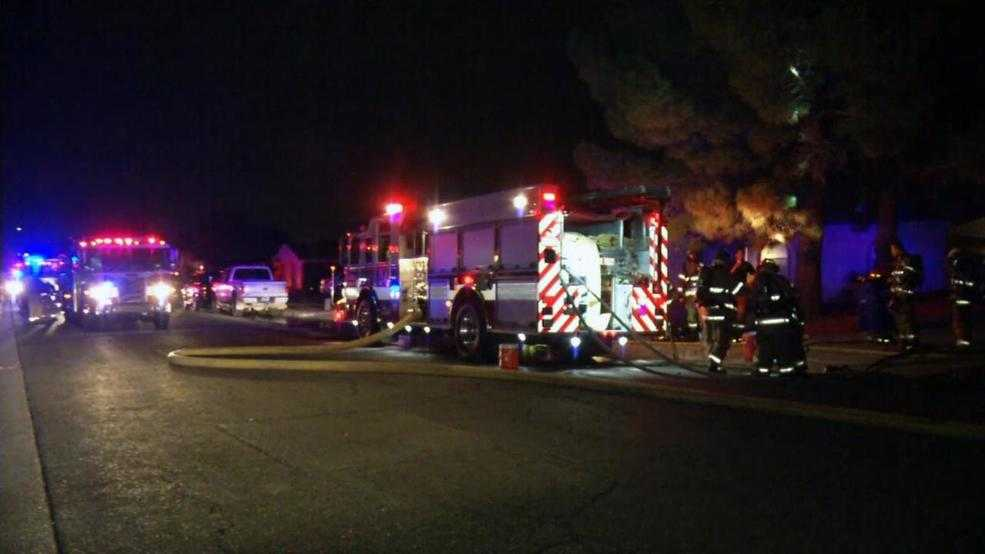 House fire reported in East El Paso
