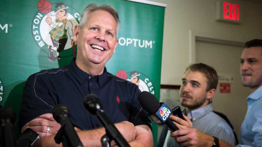 Morning sports update: Danny Ainge doesn't really care about the East: 'We're trying to win championships'
