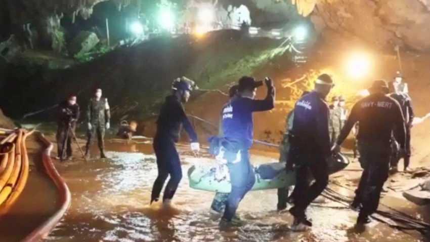 Producers plan movie about the Thai cave rescue
