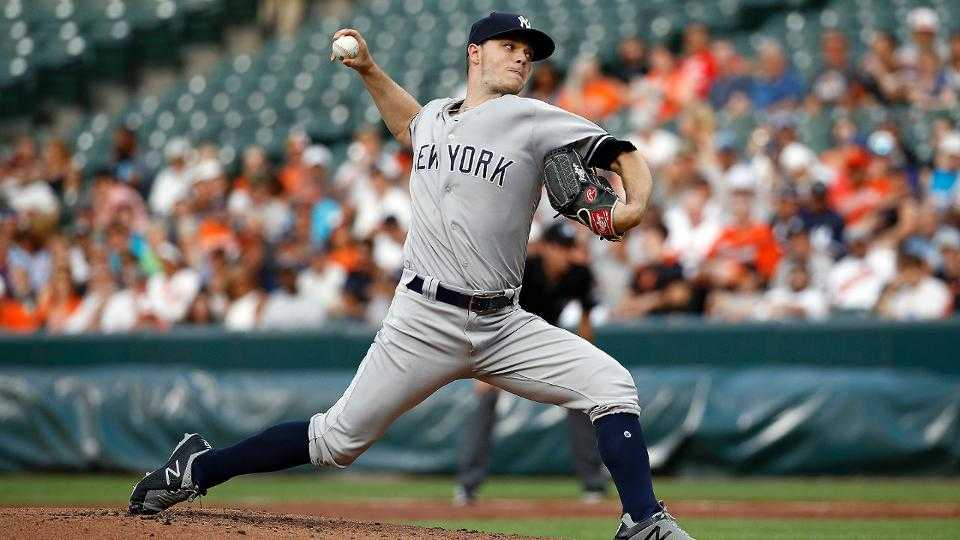 Sonny Gray strikes out 8 in 6 scoreless frames
