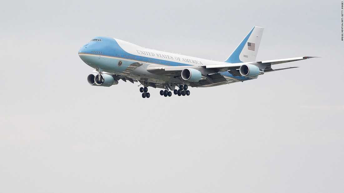The next Air Force One could be red, white and blue