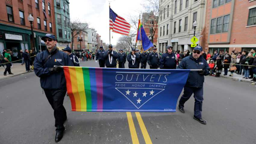 Leader of LGBTQ veterans group to oversee Boston's St. Patrick's Day parade