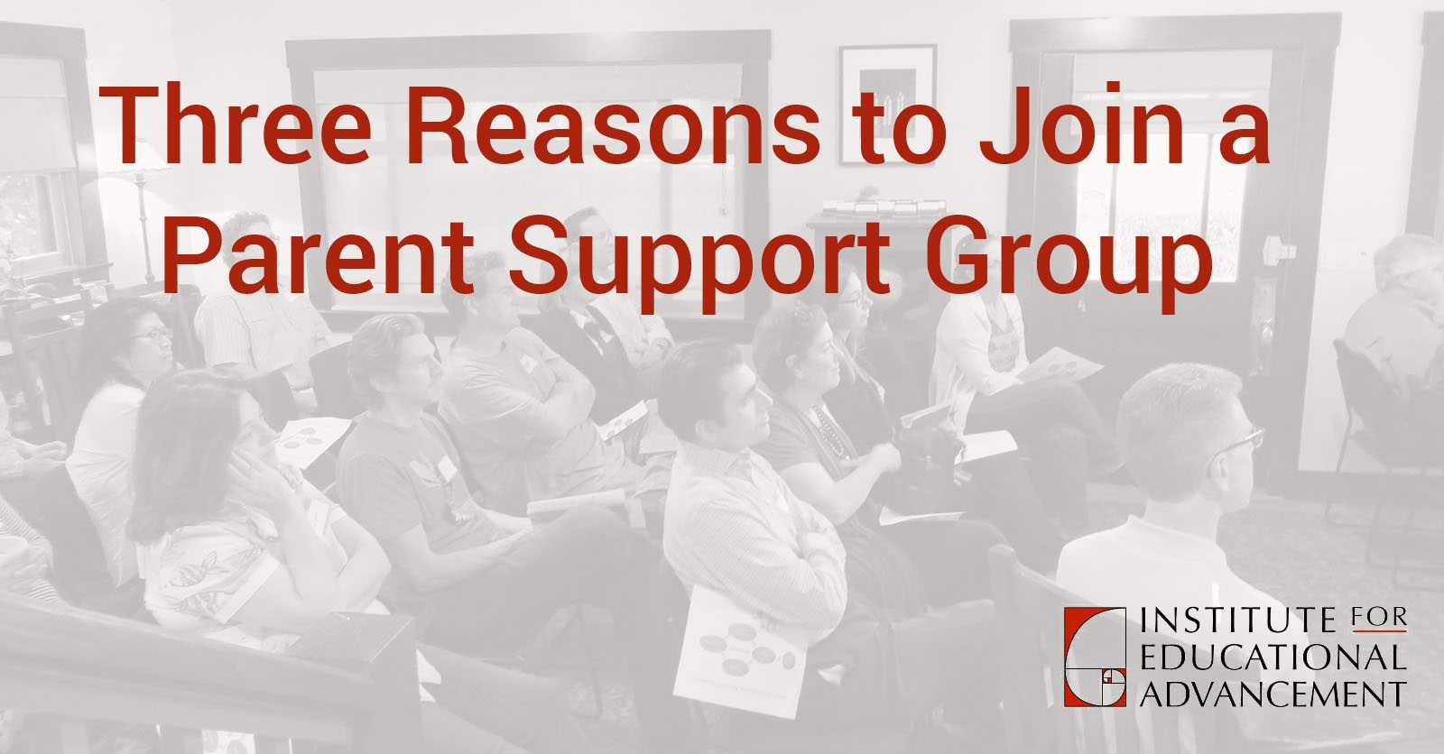 Three Reasons to Join a Parent Support Group