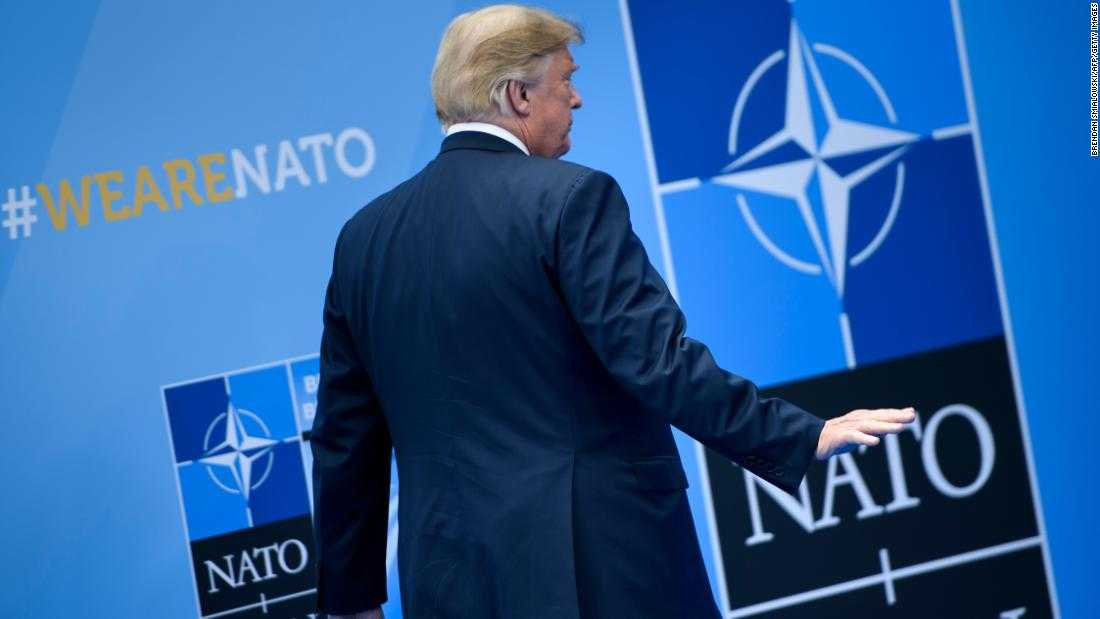 What Trump's tough-guy act at NATO was really about