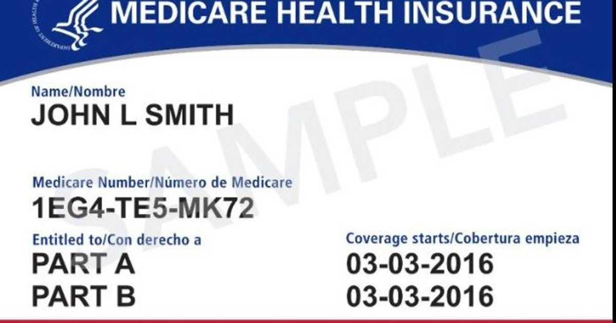 When is that new Medicare card going to get here?