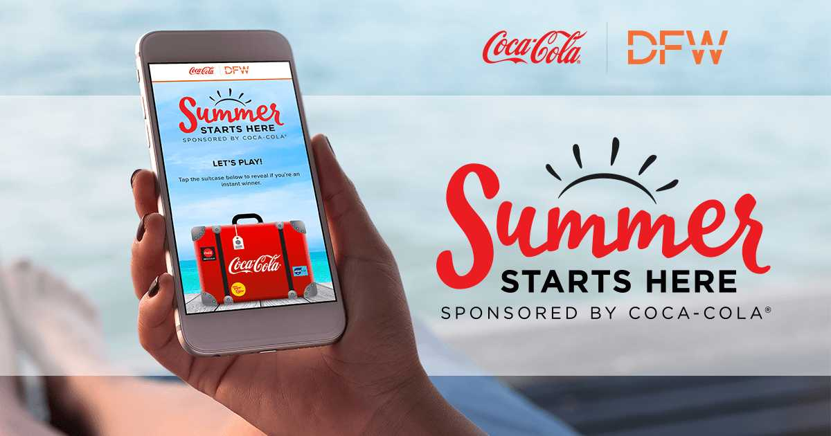 Coca-Cola and DFW Summer 2018