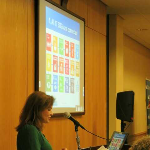Seton Hall University promotes the UN SDG Challenge to engage students with innovative solutions