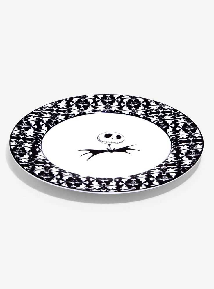 The Nightmare Before Christmas Brocade Dinner Plate Set